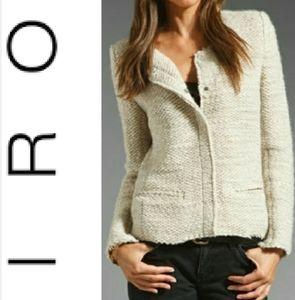 IRO Shena Jacket/ Blazer Wool Blend Bouclé